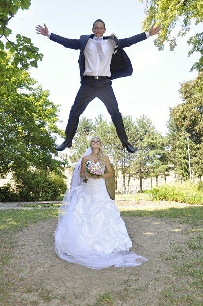 Soutěžní svatební pár číslo  21 – Karolína a Martin Krajčovi, Suchá Loz