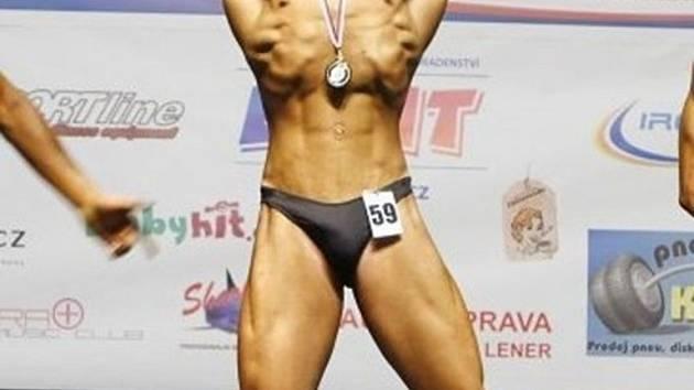 Šestnáctiletý kulturista Tomáš Maňásek z T-gym Uherské Hradiště vybojoval titul mistra republiky.