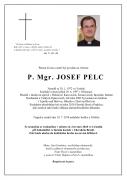 Parte P. Mgr. Josefa Pelce