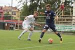 1. FC Slovácko - RKS Radomiak Radom 1:1 (1:0) přípravný zápas. (Slovácko v modrých dresech).