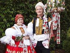 Soutěžní pár číslo 20 –  Lucie Kopecká a Lukáš Rychlík, starší stárci, Kostelany n. Mor., 20.-21.září.