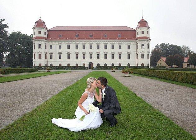 Soutěžní svatební pár číslo 58 - Denisa a Michal Ďopanovi, Beňov