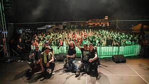 Večerní koncerty kapel jsou magnetem Slováckého léta v Uherském Hradišti