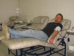 Pavel Bohun získal za 80 odběrů krve Zlatý kříž.