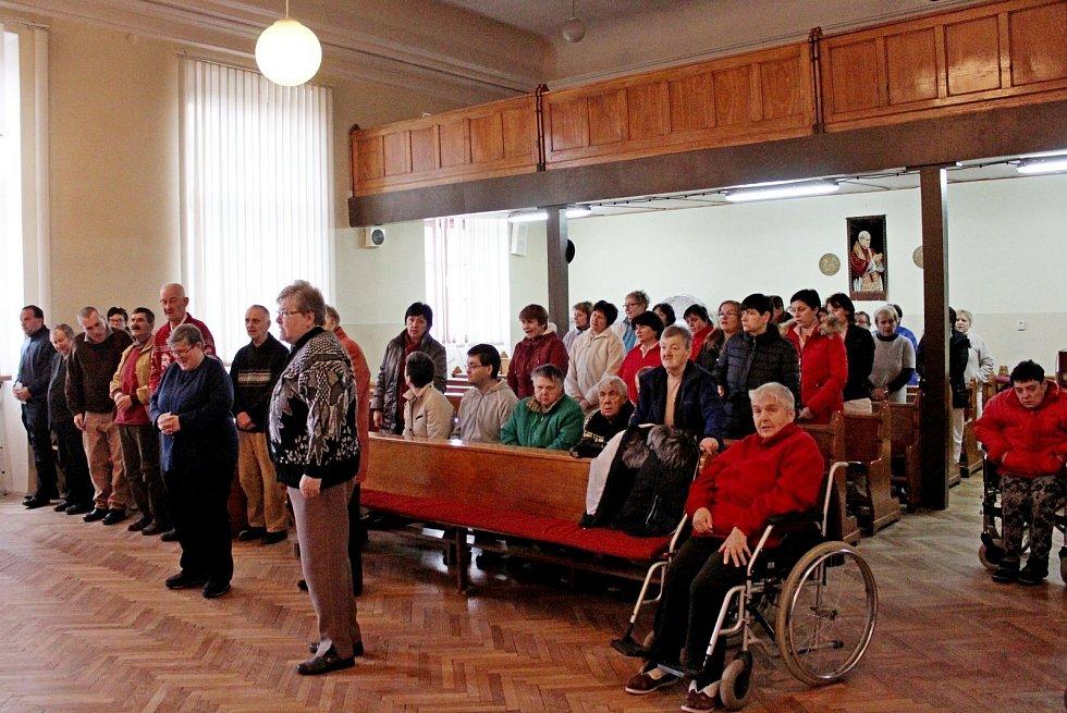 Předvánoční ovzduší vstoupilo také do Domova pro osoby se zdravotním postižením Velehrad-Vincentinum
