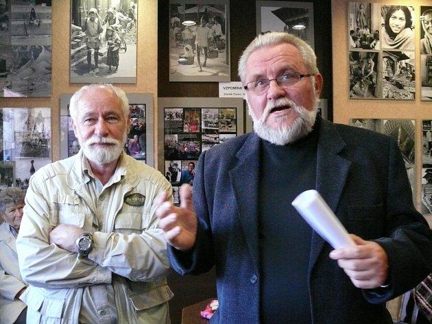 Jiří Jilík (vpravo). Ilustrační foto.