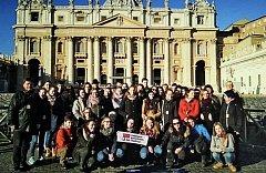 Pěvecký sbor Stojanova gymnázia veze zlato z Říma.