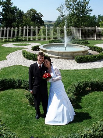 Soutěžní svatební pár 103 - Martina a Jan Zikmundovi, Rudice.
