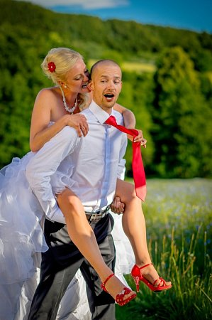 Soutěžní svatební pár číslo 146 - Tereza a Michal Valentovi, Zlín