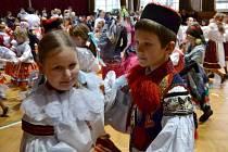 Dětský krojovaný ples ve Vlčnově