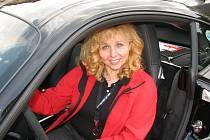 Prezidentka Porsche Clubu Eva Ševčíková.