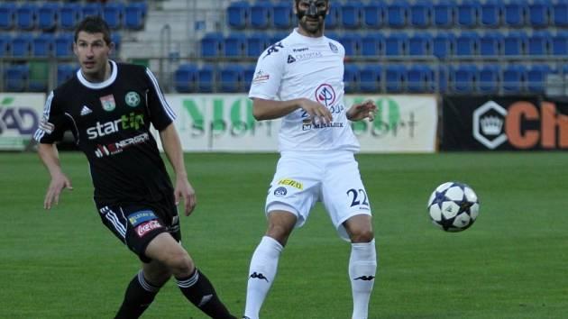1. FC Slovácko vs. Příbram - Autor první branky utkání Tomáš Pilík a Tomáš Košút