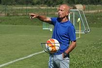 Trenér divizního Valašského Meziříčí Pavel Hajný nebyl po zápase s Přerovem vůbec spokojený.