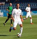 HET liga 1. kolo: 1. FC Slovácko - FK Jablonec. Na snímku Josef Divíšek.