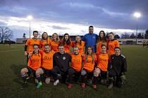 Fotbalistky Uherského Brodu se fanouškům představí na domácím Gazda Cupu.