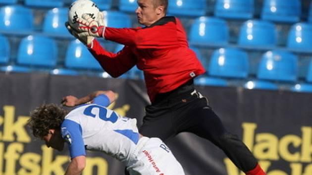 Miroslav Filipko, brankář 1. FC Slovácko. Ilustrační foto.