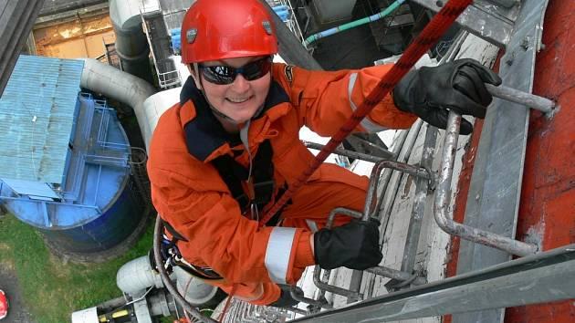 Soňa Pančochová by svou náročnou práci u hasičů nevyměnila za nic na světě.