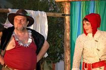 Karel Hoffmann s dcerou Zuzanou v hlavních rolích premiéry.