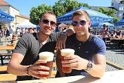 Už po druhé se letos uskutečnil festival pořádaný Jarošovským pivovarem s názvem Hradišťské piváky na Masarykově náměstí.