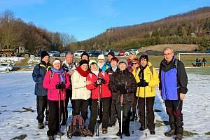 Na výšlap okolím Břestecké skály se vsobotu vydalo sedm stovek turistů a milovníků zimní přírody. Lidé si nenechali ujít ani zabijačkové dobroty.