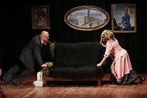 V Kulturním domě ve Véskách předvedl obnovený divadelní spolek Čapek divadelní hru Ryba ve čtyřech.