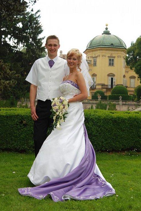 Lenka a Petr Kotkovi