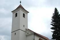 Kostel mistra Jana Husa v Uherském Brodě.