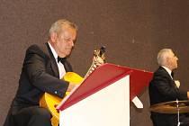 Swingová kapela Melody Gentlemen z Lednice s Karlem Hegnerem ve Vlčnově