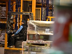 Sklad Hamé ve Starém Městě disponuje 40 tisíci paletovými místy.