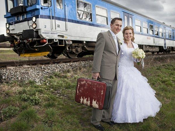 Soutěžní svatební pár 74 - Taťána a Václav Nášelovi, Horní Němčí.