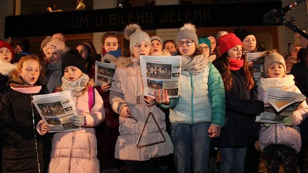 Česko zpívá koledy v Uherském Hradišti 2018