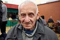 92letý Turista Vojtěch Rosůlek ze Starého Města