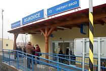 V Bojkovicích otevřeli nově opravené nádraží za čtvrt miliardy korun.