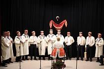 V kulturním domě Dolní Němčí vystoupily se svým zpěvem sbory ze slováckého regionu.