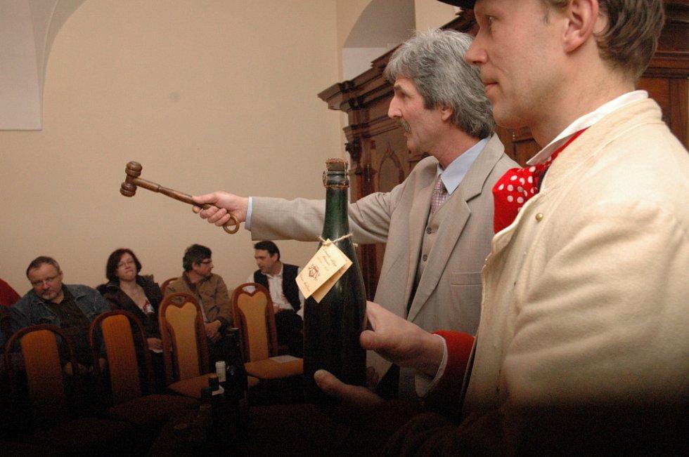 Součástí dne vína byla i tradiční akce.