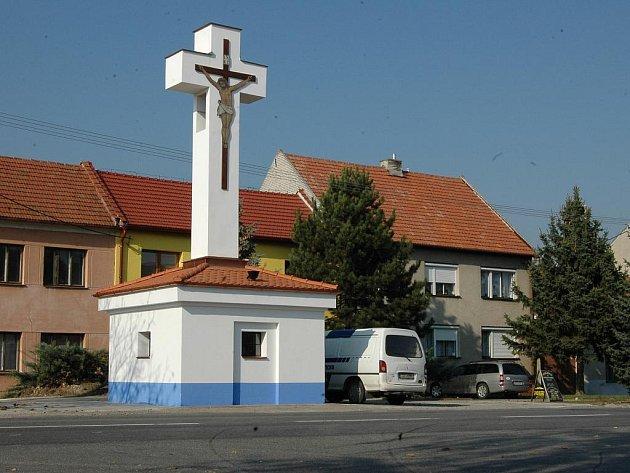 Kaplička v Ostožské Nové Vsi. Ilustrační foto.