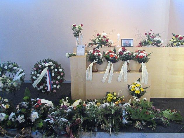 V Uherském Brodě se loučili s další obětí Zdeňka Kováře, patriotem Oldřichem K.