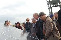Fotovoltaická elektrárna v Ostrožské Lhotě