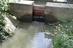 Povolené stavidlo umožnilo znečištěné vodě, aby se dostala do oblíbeného jezera pro koupaní na staroměstských Loukách.
