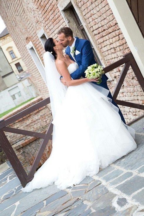 Soutěžní svatební pár číslo 5 - Martin a Vendula Pechovi, Blatec
