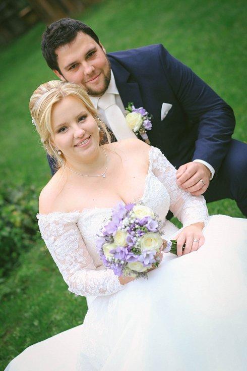 Soutěžní svatební pár číslo 125 - Lucie a Filip Strážničtí, Olomouc