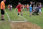 Tečkou za prázdninami byly na Salaši atletické závody dětí a mládeže