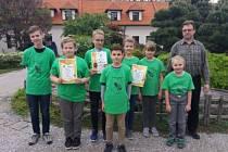 Mladí Broďané dominovali v krajské soutěži Zlatá včela.