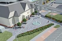 V souvislosti s novým dopravním terminálem jsou vypracovány vizualizace nových prostor.