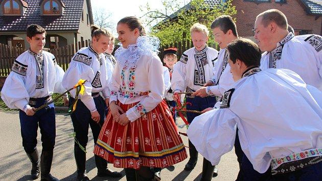 Velikonoční pondělí ve Vlčnově