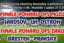 Finále Poháru OFS Uherské Hradiště.
