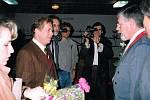 Přijetí v roce 1992 ve Slováckém divadle v Uherském Hradišti.