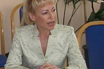 Generální ředitelka letecké továrny Aircraft Industries Ilona Plšková. Ilustrační foto.