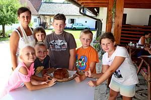 Malí táborníci si odnášeli z příměstského tábora vMuzeu tupeské keramiky nezapomenutelné zážitky.