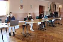 Volby 2021 v Hostějově. Volební komise.